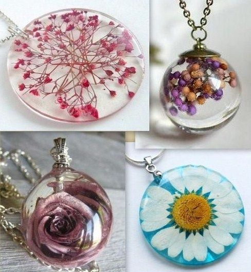 Les 25 meilleures id es de la cat gorie bijoux en r sine sur pinterest tutoriel bijoux en - Bijoux en resine ...