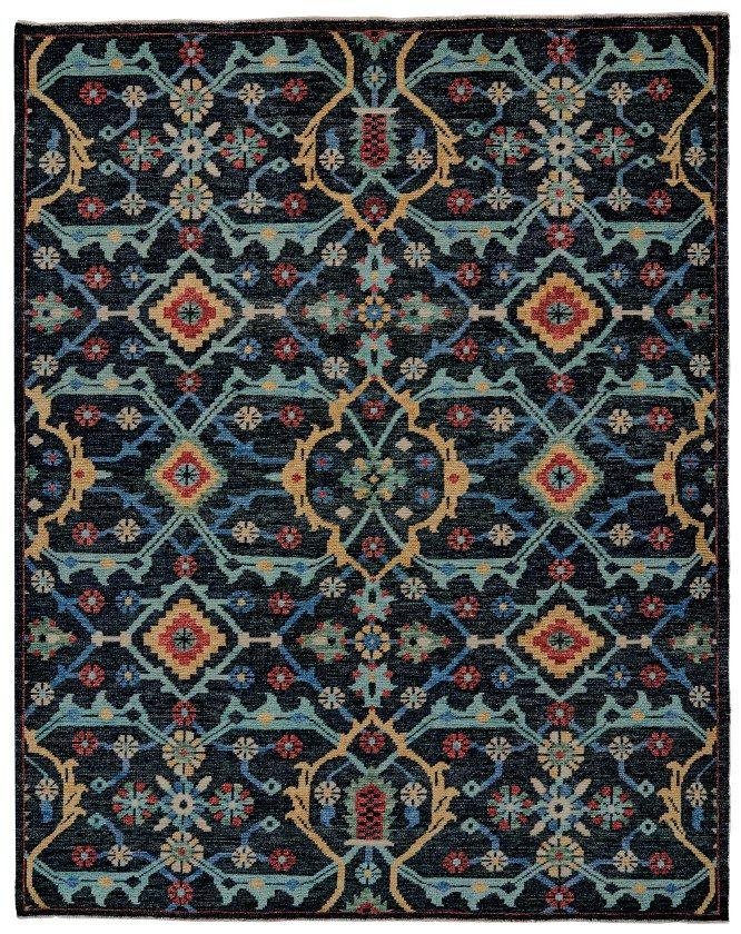 Piraj 6454F In Blue | Feizy Rugs