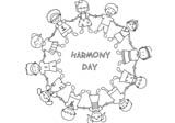 OurKidz Colouring: Harmony Day