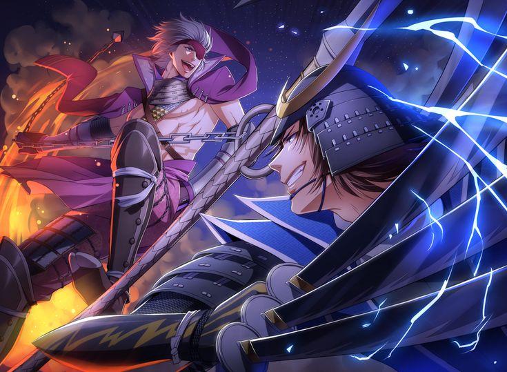 Tags: Sengoku Basara, Date Masamune (Sengoku Basara), Capcom, Pixiv, Motochika Chosokabe (Sengoku Basara), Red Lian