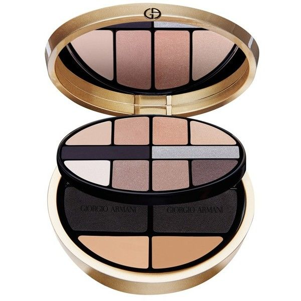 Giorgio Armani 'Luxe is More' Palette ❤ liked on Polyvore featuring beauty products, makeup, face makeup, beauty, cosmetics, pressed powder makeup, giorgio armani, giorgio armani cosmetics, giorgio armani makeup and palette makeup