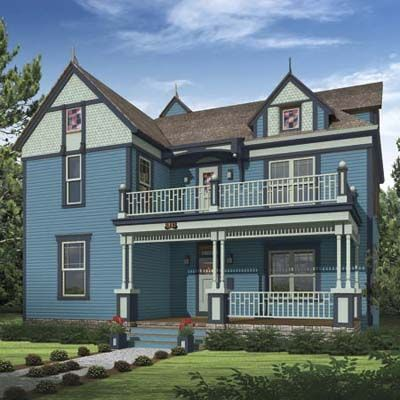 17 Best Images About Blue Houses On Pinterest Exterior