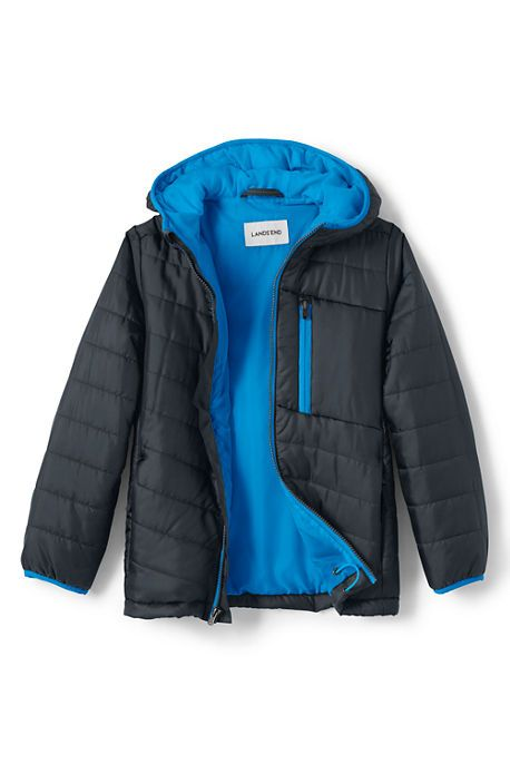 Boys Packable Primaloft Jacket from Lands' End