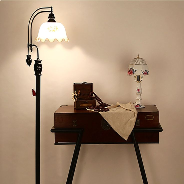 227.80$  Watch here - http://aliqr5.worldwells.pw/go.php?t=32778914361 - Top European Style Coffee Shop Retro Floor Lamps 110V-220V Led Bulb Lamp E27 Iron American Floor Lamp Office Lighting Fixture 227.80$