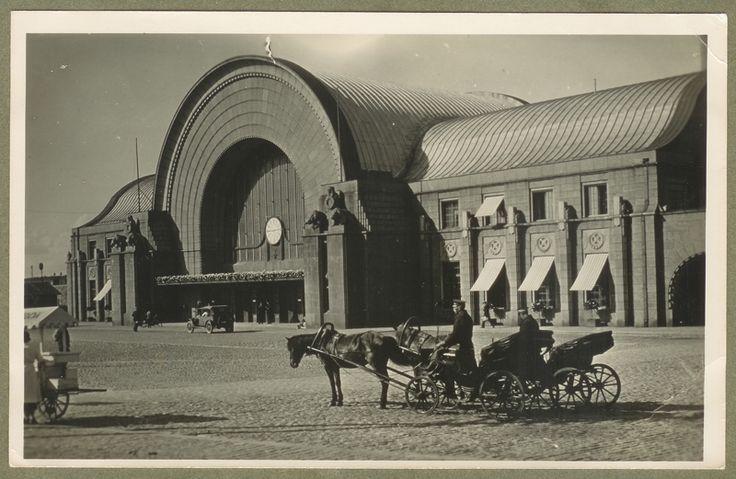 Eliel Saarinen and Herman Gesellius, Vyborg Central Railway Station, 1913, destroyed in 1941.