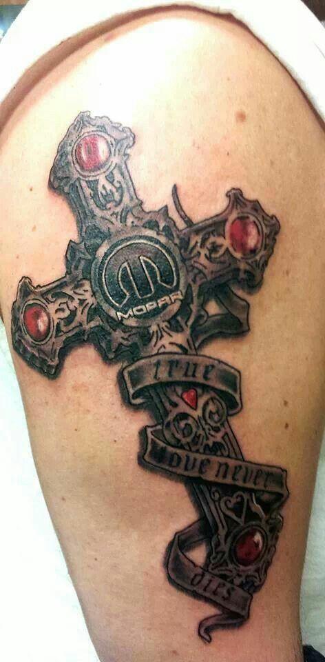 11 best mopar tattoos images on pinterest mopar tattoo for Saint tattoo knoxville