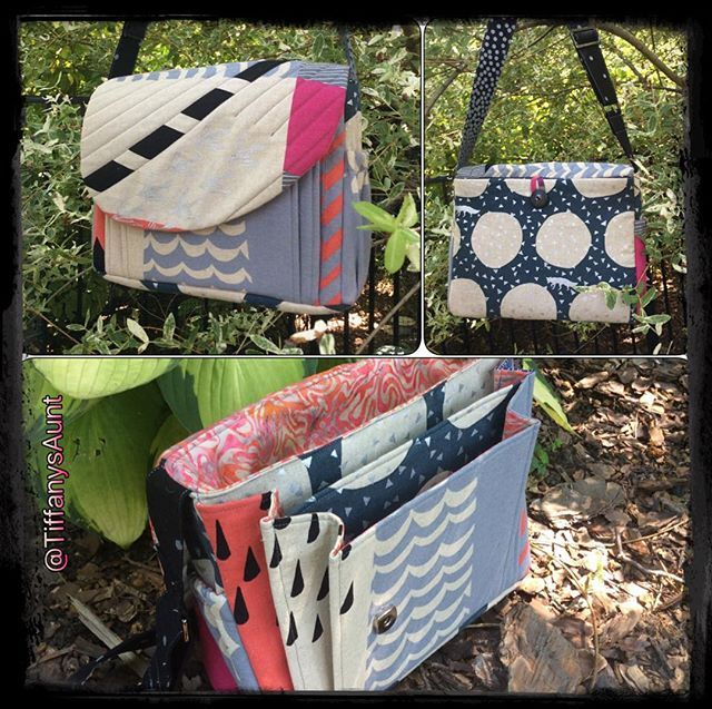 Sew Sweetness Appaloosa Bag sewing pattern, sewn by Deanna