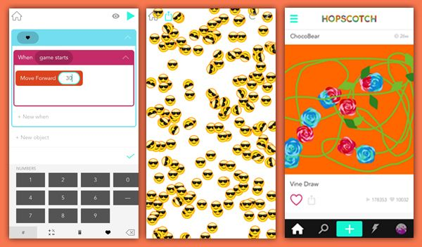 Spell your name with emoji. Draw a snowflake. Create an Angry Birds game. Download Hopscotch and start coding these and other projects in minutes.