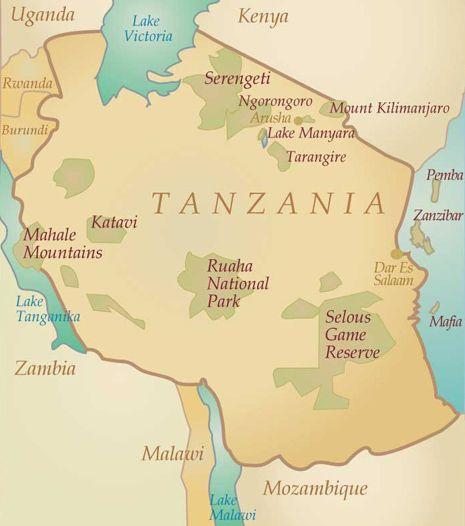 Safari en #Tanzanie - Carnets de voyage