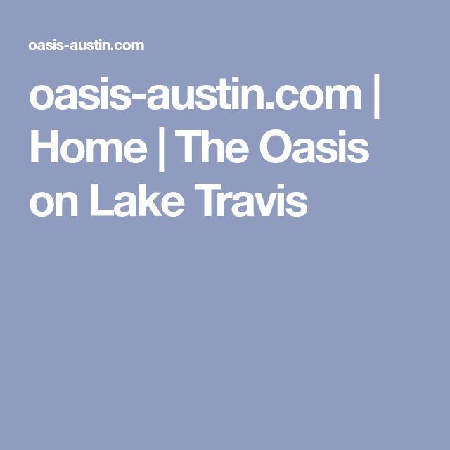 oasis-austin.com | Home | The Oasis on Lake Travis