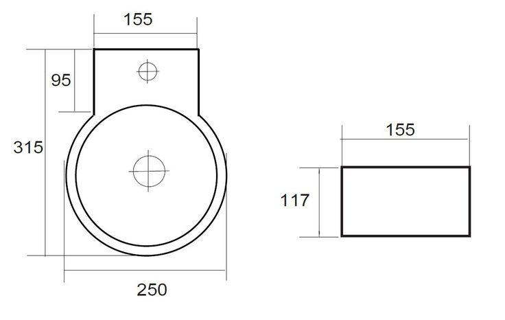 Best Design Class fonteinset compleet 30x16cm wit - 3853030 - Sanitairwinkel.nl