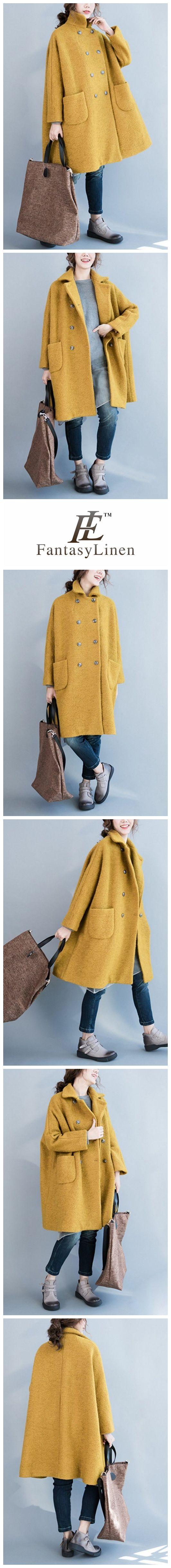 Wool Peacoat Womens Wool Coats W1401