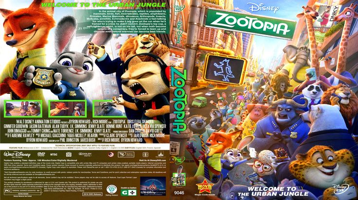 Zootopia dvd cover (2016) R1 Custom. So cool....