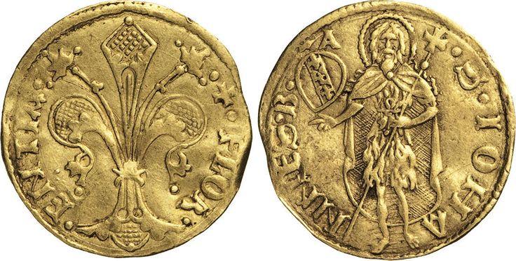 NumisBids: Numismatica Varesi s.a.s. Auction 65, Lot 310 : FIRENZE - REPUBBLICA (Sec. XIII-1532) Fiorino largo, simbolo Angelo...