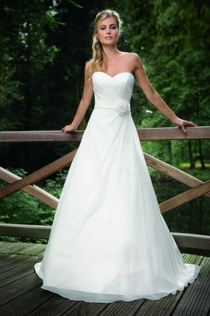 57 besten Trouwjurken Bilder auf Pinterest | Hochzeitskleider ...