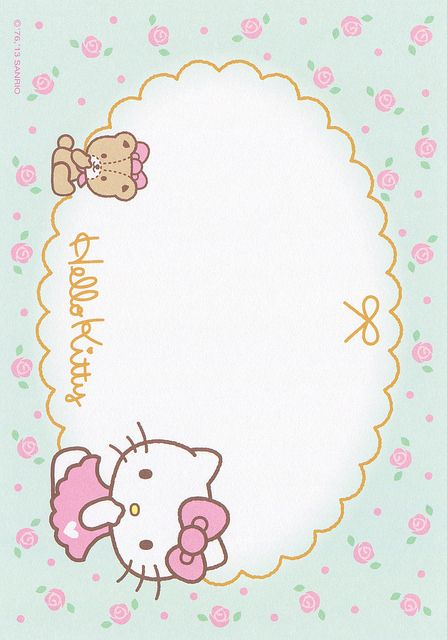 Sanrio Hello Kitty Memo (2013) | Flickr - Photo Sharing!