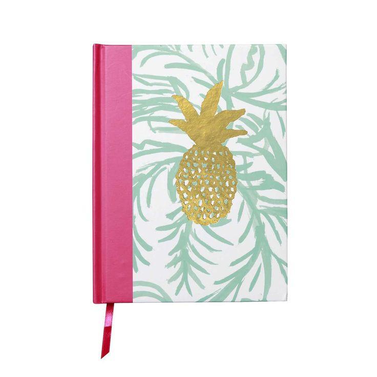 Bound Personal Journal - Pineapple - Bound Journals - Journals
