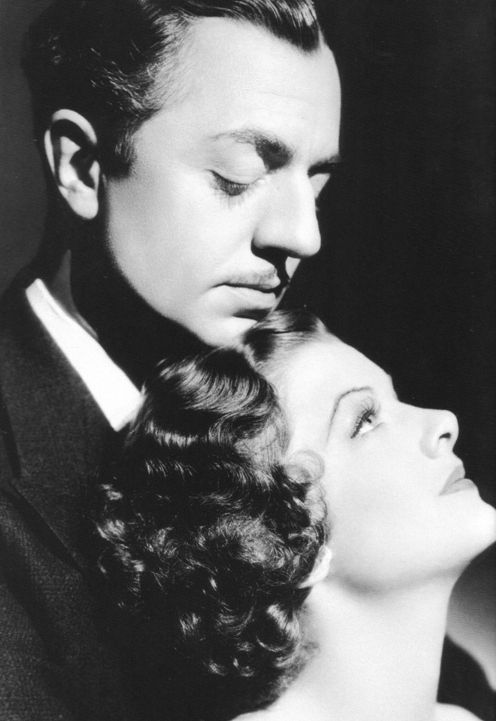 William Powell and Myrna Loy.  How I adore them together.  How I would love to share an evening with them.