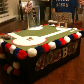 baseball valentines box