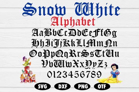 Snow White And The Seven Dwarfs Logo شعار سنووايت والأقزام السبعة Ar Logo