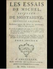 Michel de Montaigne - Essais Livre 2