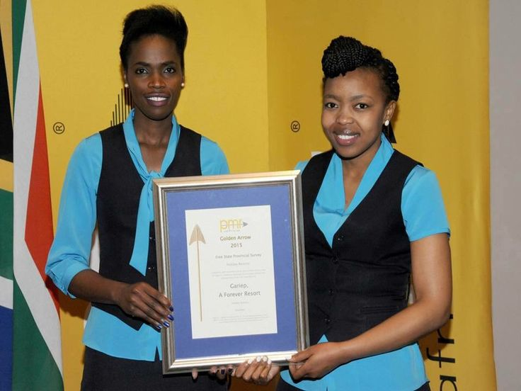 Well Done Gariep for winning the PMR Golden Arrow for Excellent Holiday Resorts, Free State Provincial Survey 2015!!! Keep up the great standards and service! #proud