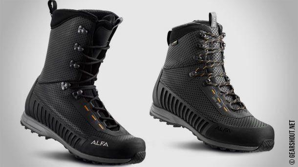 Alfa Skofabrik AS анонсировала новые модели ботинок для охоты - Bukk A/P/S GTX и Orre A/P/S GTX