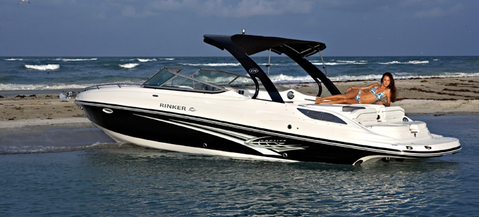 New 2012 Rinker Boats Captiva 276 CC Cuddy Cabin Boat Photos- iboats.com 1