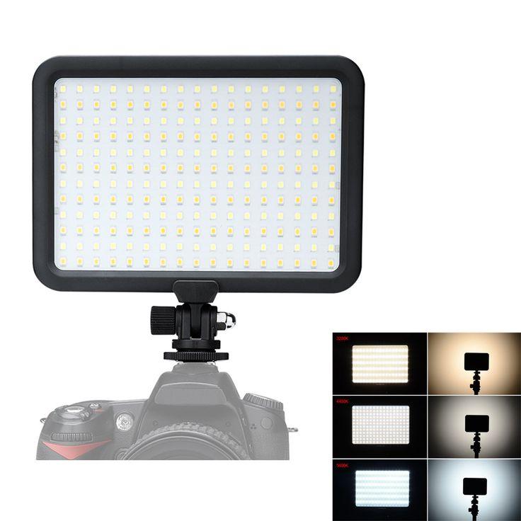 204 PCS Beads Led Video Light Panel Ultra-Thin Dual Color Temperature 3200K-5600K Photo Camera Studio LED Lighting for DSLR