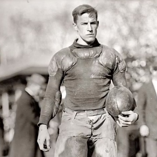 Football player, 1920s