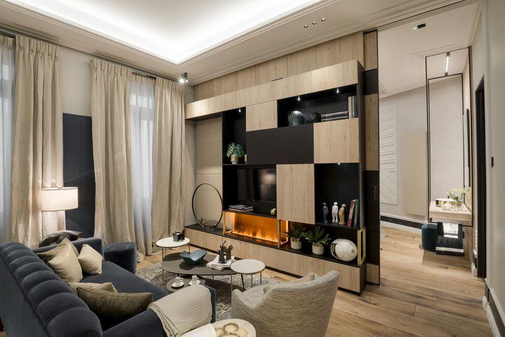 La calidez la aporta una buena madera maciza en el suelo, que combina con a luminosidad del roble en el mobiliario.  #eleroom62 #workinprogress #decor #interior #homedecor #design #home #style #art #interiorismo #arquitectura #diseño #decoracion