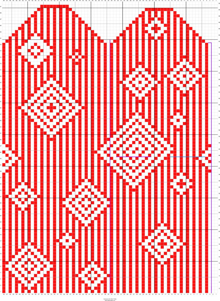 161 Best Knitting Charts Images On Pinterest Knit Patterns