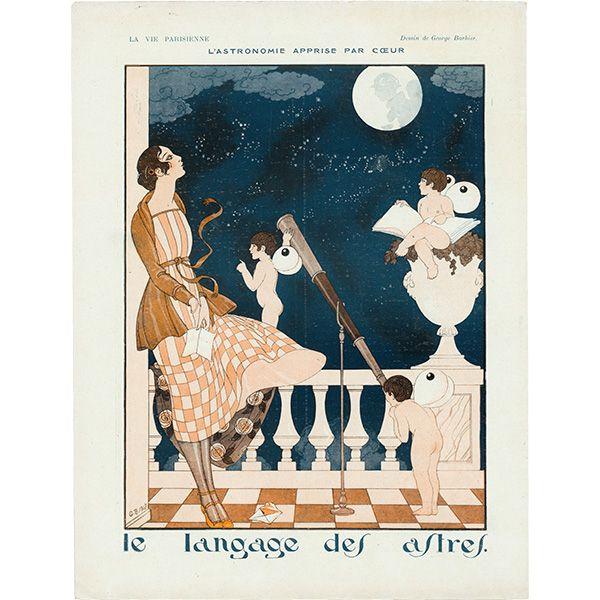 george barbier la vie parisienne 1918 11 9 ジョルジュ 挿絵 表紙