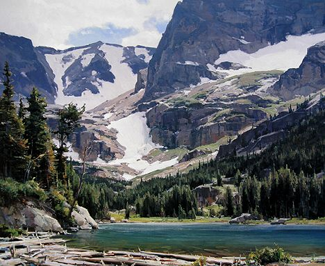 Clyde Aspevig - Mountain Lake