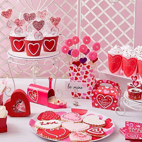 vintage valentines day treats ideas party city - Party City Valentine Decorations