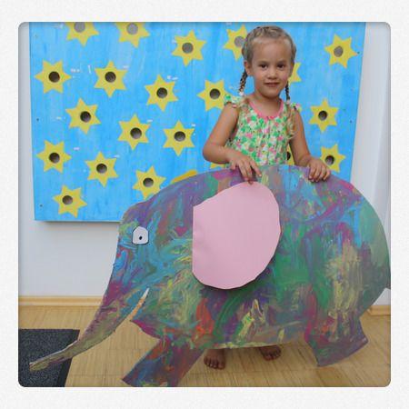 Bastelideen mit #Elmar dem bunten Elefanten. Ein #Kinderbuch zum anfassen. Wie es geht, seht ihr auch #Spielzeugde