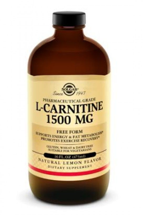 solgar l carnitine 1500mg liquid