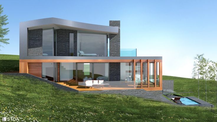 twilight villa house architecture
