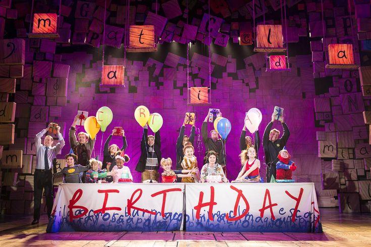 Matilda the Musical, based on the beloved children's novel by Roald Dahl. More info here: https://www.fromtheboxoffice.com/city/2957-london/262D-matilda-the-musical/