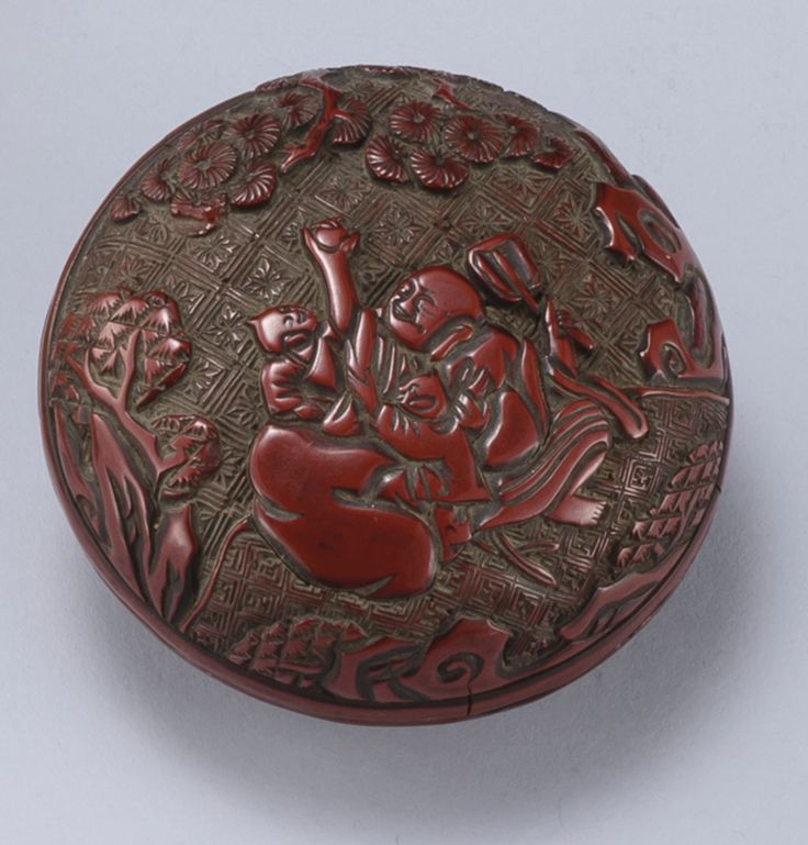 Lot | Sotheby's PROPERTY OF A GENTLEMAN A Carved Cinnabar Lacquer Box and Cover 17th Century.