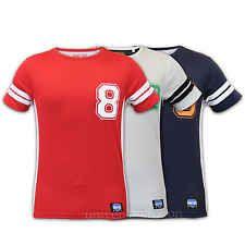 Mens T Shirt Brave Soul America Top New York Baseball Print Casual Summer New