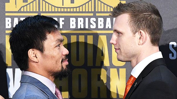 Manny Pacquiao Vs. Jeff Horn Live Stream: Watch The Boxing Match Online https://tmbw.news/manny-pacquiao-vs-jeff-horn-live-stream-watch-the-boxing-match-online  Here we go! Manny Pacquiao continues his boxing comeback by taking on Jeff Horn in a thrilling WBO championship match on July 1. The 'Battle of Brisbane' kicks off at 9:00 PM ET so don't miss it!There's some thunder rumbling down under as Manny Pacquiao, 38, will go toe-to-toe, fist-to-fist and face-to-face with Jeff Horn, 29, in a…