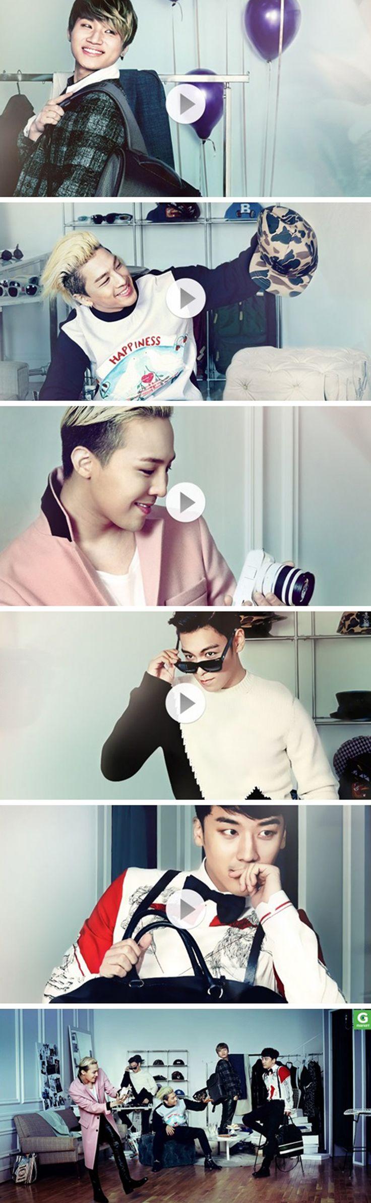 TOP, G-Dragon ,Daesung ,Seungri , and Taeyang ♡ #BIGBANG // Gmarket 'Christmas Wish List' CFs