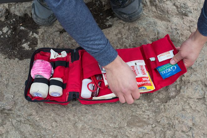Building A Hiker's First Aid Kit