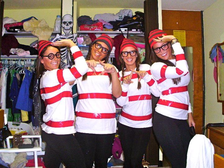 252 best halloween costumemake up ideas images on pinterest wheres waldo breakfast club costumesorority costumeshalloween diyhappy solutioingenieria Gallery