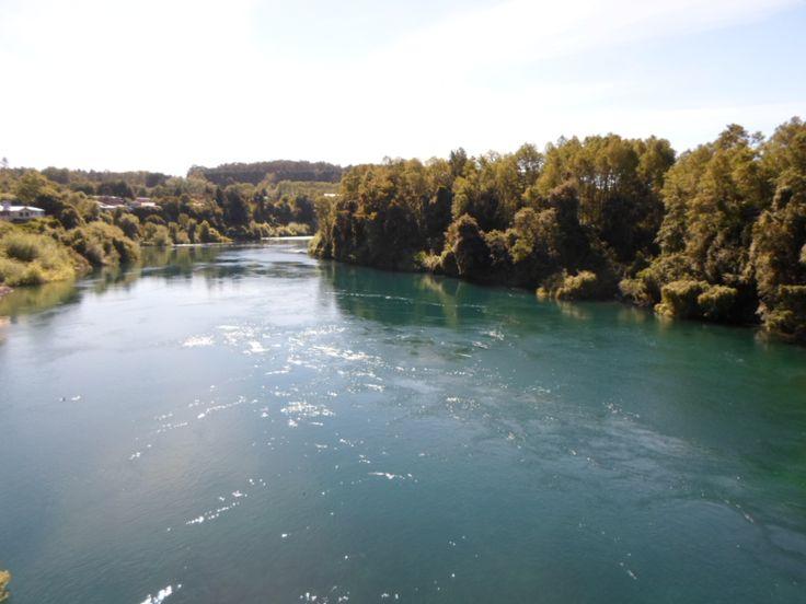 Caudal, Río Toltén,Villarrica