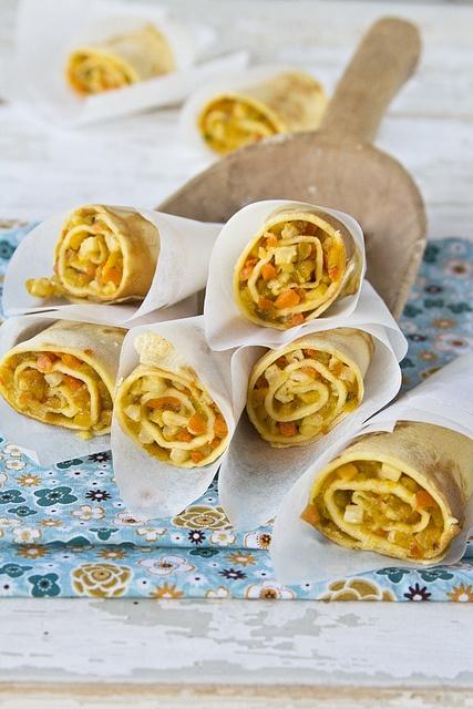 rolled/sliced crepes as finger food=awesome brunch idea?