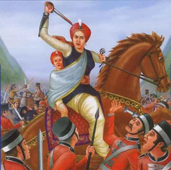 Queen of Jhasi : Laxmi Bai #IndianFreedomFighters