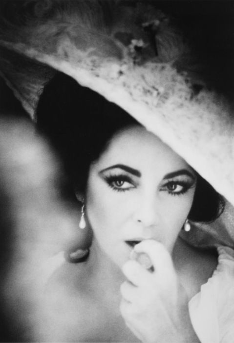 Elizabeth Taylor....so beautiful and not that much older than I was. So many women wanted to emulate her striking looks and interesting life.
