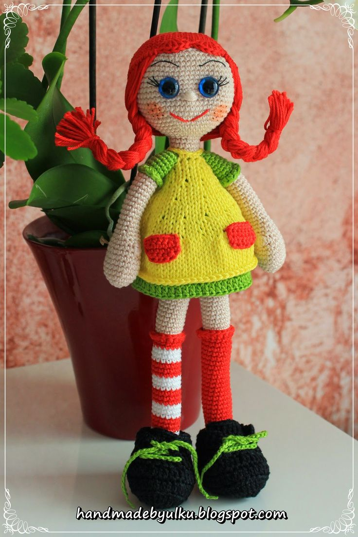 Handmade by Ülkü: Wieder eine Pippi Langstrumpf / Pippi Longstocking...